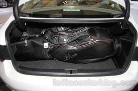 lexus indonesia 2016 lexus es300h boot space at the 2015 gaikindo indonesia