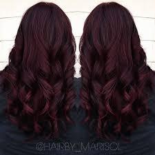 mahogany hair color chart it s all the rage mahogany hair color