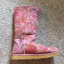 57 best ugg slippers and 57 ugg boots pink blush floral ugg boots from