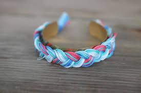 fashion braided bracelet images Diy aurelie bidermann braided cuff bracelet the stripe jpg