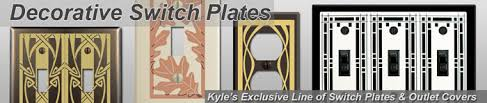 Decorative Wall Plate Covers Kyle Design Decorative Switch Plates Unique Metal Wall Plate Covers