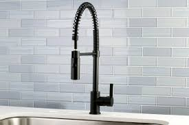 Standard Kitchen Faucet Kingston Brass Gourmetier Continental Single Handle Pull Down