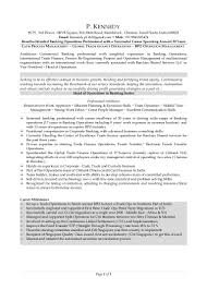 Sample Resume Format For Experienced Bpo Professionals by Resume Kennedy