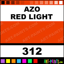 azo red light oil colors oil paints 312 azo red light paint