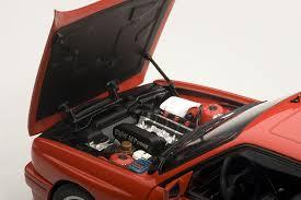 Bmw M3 Sport - diecast model bmw m3 sport evolution e30 in red amazon co uk