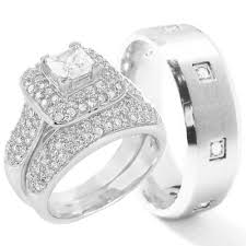 wedding rings sets his and hers for cheap cheap sterling silver engagement rings kingswayjewelry