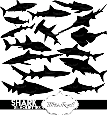 tiger shark clipart printable pencil and in color tiger shark