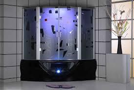 Frame Shower Door Glass Shower Door Tub White Rectangle Acrylic Bathtub Shower Combo