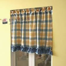 Checkered Kitchen Curtains Blue Checkered Kitchen Curtains News Yellow Plaid Kitchen Curtains