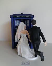tardis cake topper wedding cake toppers doctors wedding cake topper tardis doctor