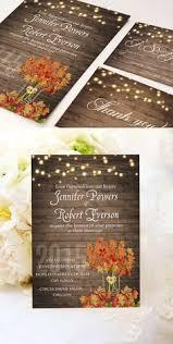 cheap fall wedding invitations falling leaves wedding invitation autumn by littlebopress on etsy
