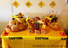 construction party ideas construction themed birthday party pocketful of motherhood