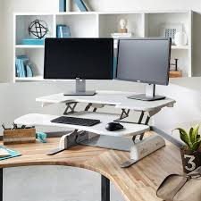 Sit Stand Adjustable Desk by Height Adjustable Standing Desks Varidesk Sit To Stand Desks