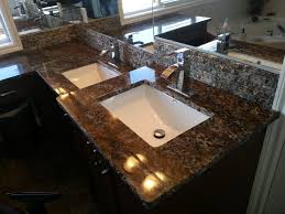 orion exotic granite vanity u0026 granite tile backsplash fireplaces