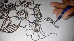 simple henna drawing henna tattoos mehndi designs drawing art