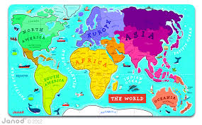 Alaska On World Map by Janod U0027s Magnetic World Map U2013 Tilda And Tom