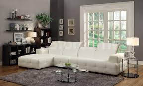 White Leather Sectional Sofa With Chaise Modern Sectional Sofas Leather Chenille Fabric Velvet Vinyl