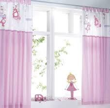 Pink And White Curtains Bedroom Adorable Panel Curtains Bay Window Curtains Bedroom
