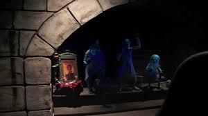 Haunted Mansion Floor Plan Lights On Peek At The Haunted Mansion During Evacuation Walt