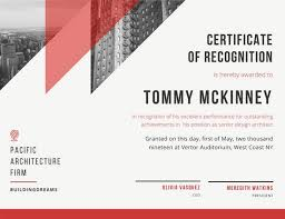 online design of certificate customize 204 recognition certificate templates online canva