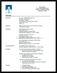 no experience resume work experience resume exle exles of resumes