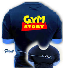 with attitude mens no no gain reversal t shirt with