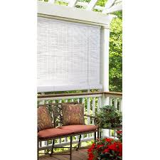 Walmart Blinds In Store Style Selections Radiance Reed Roll Up Window Blinds White