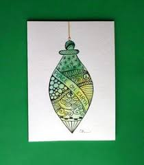 watercolor card no 504 ornament greeting card