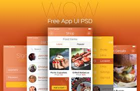 30 best free app concept psd templates for you