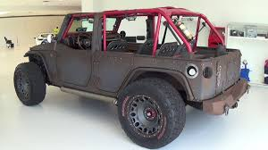 lifted jeep bandit unbelievable crazy looking special edition custom jeep wrangler