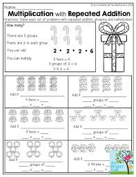 best solutions of multiplication as repeated addition worksheets