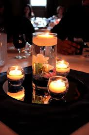 Centerpieces With Candles For Wedding Receptions by Floating Candle Centerpiece Wedding Centerpiece Vase Floating