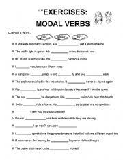modal verbs worksheet by jecmpj