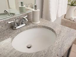 How To Install A Bathroom Sink And Vanity by Bathroom Granite Countertop Costs Hgtv