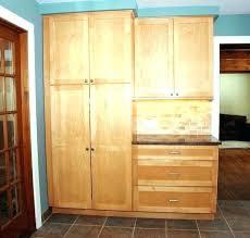 oak kitchen pantry cabinet shallow pantry cabinet tall wood pantry cabinet tall oak kitchen