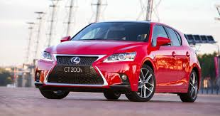 lexus cars red lexus ct second gen small car could gain non hybrid turbo