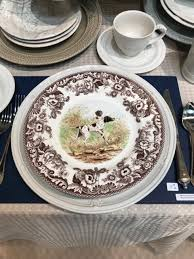 plate exclusives dinnerware woodland spode salad