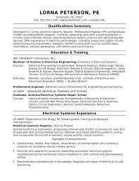 sample of summary of qualifications sample resume for a midlevel electrical engineer monster com