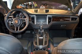 porsche macan 4 cylinder price porsche macan previewed in malaysia 4 variants inc 4 cylinder turbo