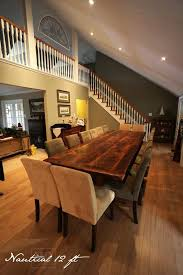 Extra Large Dining Room Tables by 17 Best Extra Long Tables Images On Pinterest Kitchen Tables