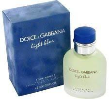 light blue men s cologne dolce gabbana light blue 2 5oz men s eau de toilette ebay