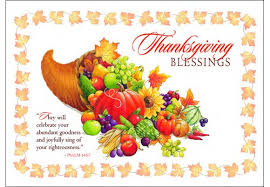 thanksgiving blessing clipart