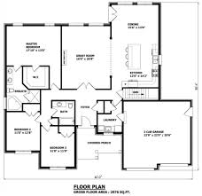 Bungalow Plans Canadian Home Designs Custom House Plans Stock Raised Bungalow