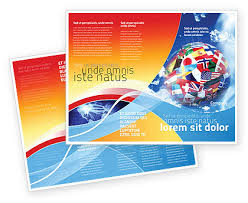 world flags brochure template design and layout download now