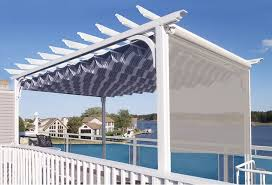 Retractable Roof For Pergola by A Retractable Canopy Or Patio Cover Is The Sun Shade Solution