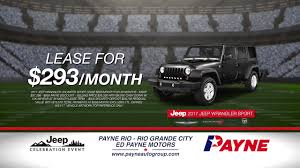 jeep artwork lease a 2017 jeep wrangler sport for 293 mo ed payne motors