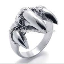 stainless steel rings for men stainless steel claw claw titanium ring steel jewelry stainless