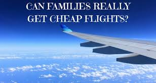 save money on flights can families really save money flying