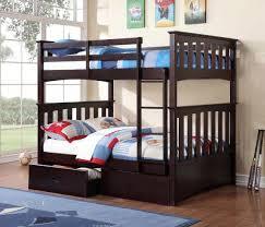 Bunk Beds Espresso Espresso Bunk Bed W 051 Bedroom