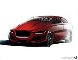 porsche concept sketch jaguar xe concept rendering 6speedonline porsche forum and